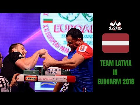 European Armwrestling Championship 2018 - Team Latvia Experience