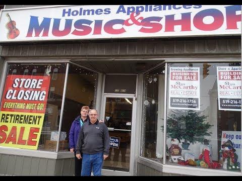 End Of An Era :Holmes Appliances & Music Shop Closes It's Doors & We Say Happy Retirement