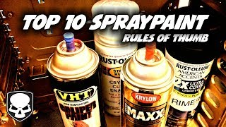 How to spray paint like a gangsta - spraypaint
