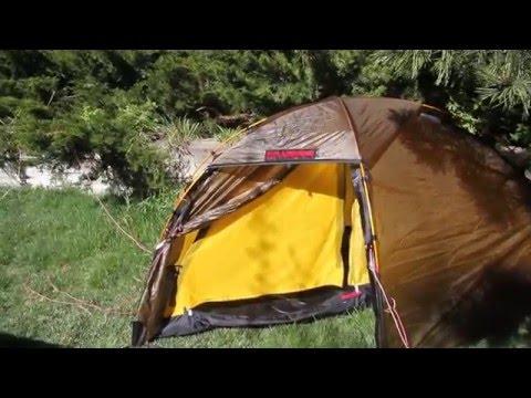 "Hilleberg ""Red Label"" Soulo tent (Solo, single-person four season tent)"