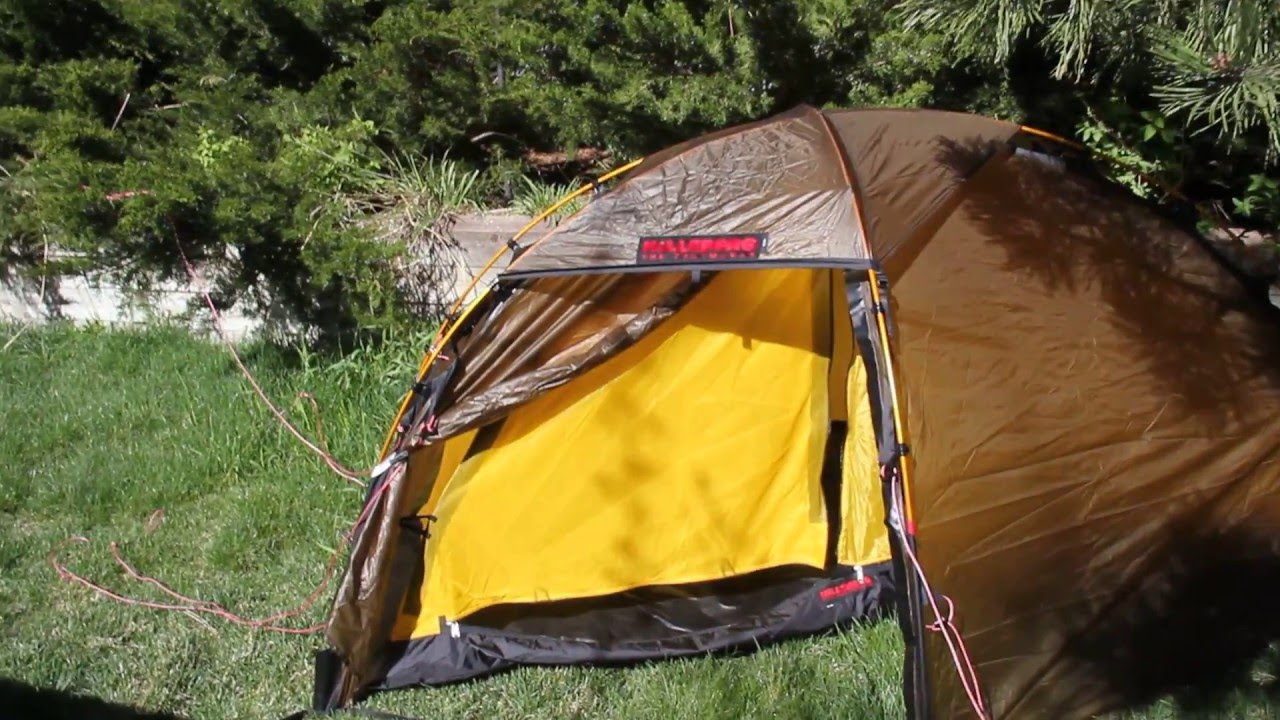 Hilleberg  Red Label  Soulo tent (Solo single-person four season tent) & Hilleberg
