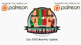 July 2015 Monthly Update