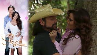 ¡Eusebio intenta abusar de Lucía! | Corazón indomable - Televisa
