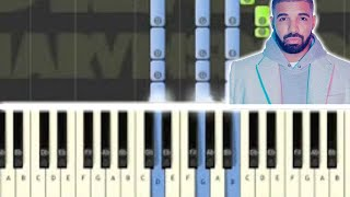 ♬ Learn how to play MARVIN'S ROOM by DRAKE Synthesia Piano Tutorial - By Soulphonic ♬