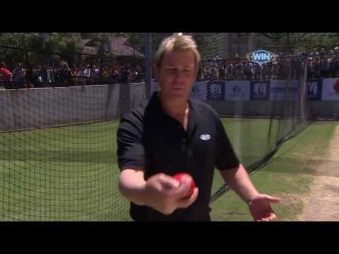 Leg Spin Masterclass With Shane Warne - Great Bowling Tips