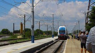В первые в истории на Генический вокзал прибыл двухэтажный поезд «Интерсити»