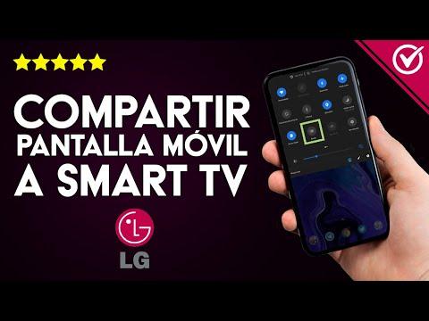 Cómo Conectar y Compartir Pantalla de mi Móvil a Smart TV LG por Bluetooth o WiFi - Duplicar TV