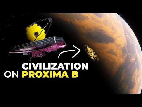 James Webb Telescope May Detect Artificial Lights On Proxima b