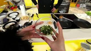 Салат с грейпфрутом и гребешками(Завтрак в постель с Ильей Лазерсоном. Рецепты на сайте http://tveda.ru/, 2013-01-13T07:58:15.000Z)