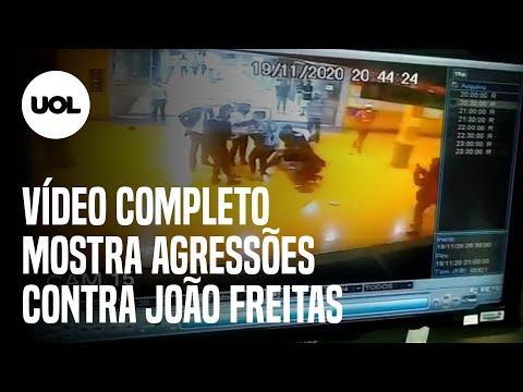 Morte no Carrefour: vídeo completo mostra agressões com chutes, socos e pontapés na cabeça