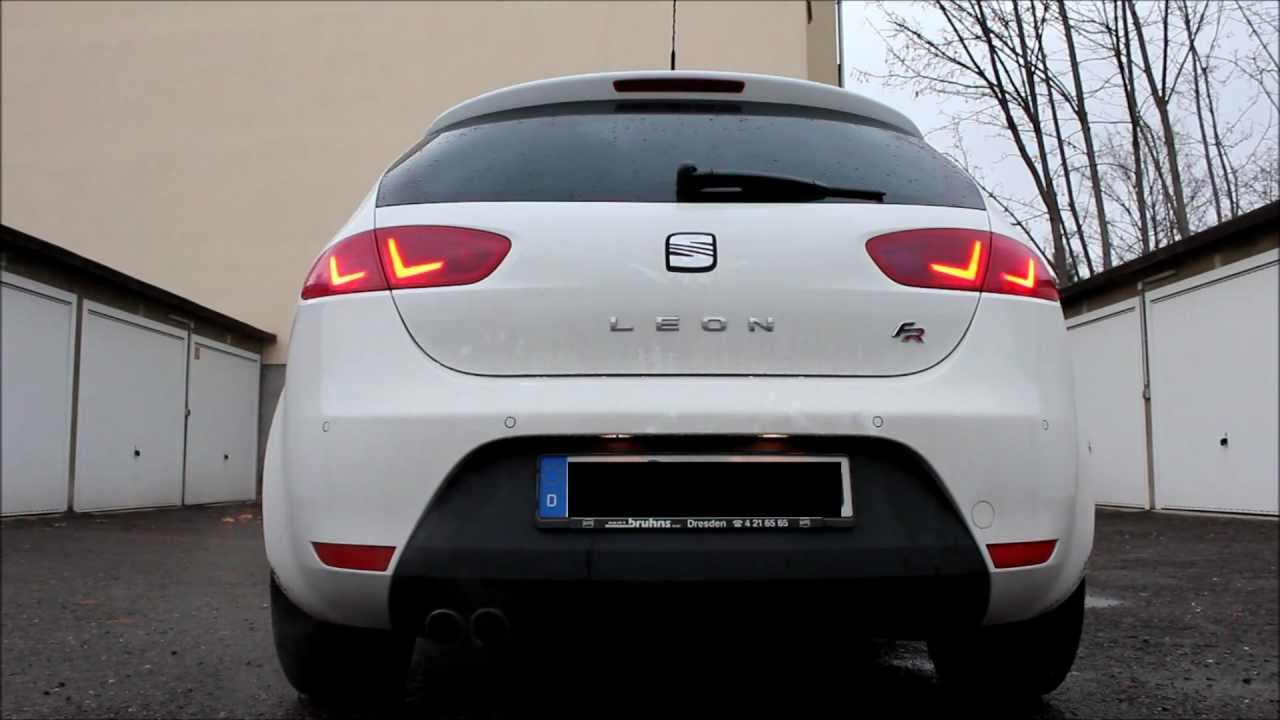 Seat Leon Sport FR Sound  Driving  YouTube