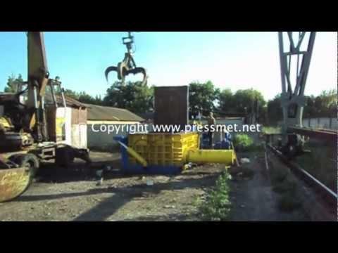 Hydraulic baler, Гидравлический пресc для металлолома Y83-315B