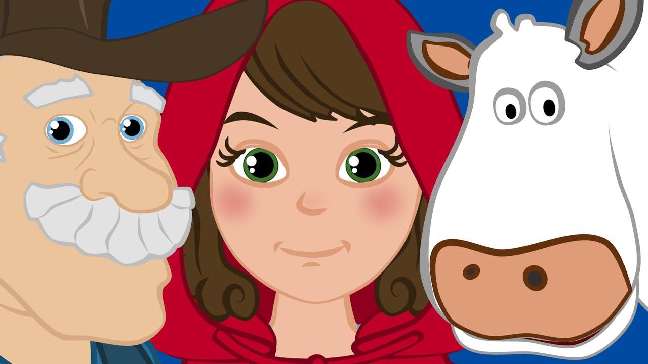 Kırmızı Başlıklı Kız ile Tonton Dede'nin Çiftliği Çocuk Şarkısı | Adisebaba Masal