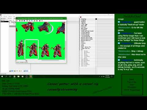 2D Fighter Maker 2nd Tutorial 2 Character Creation Overview