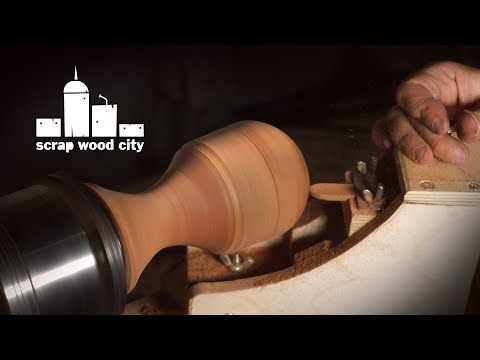 DIY sphere making jig for the lathe