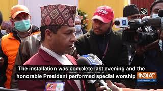 Nepal President participates in 'Kshama Puja', inaugurates new 'Jalahari' at Pashupatinath Temple