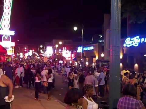 Beale Street, Memphis TN 3D