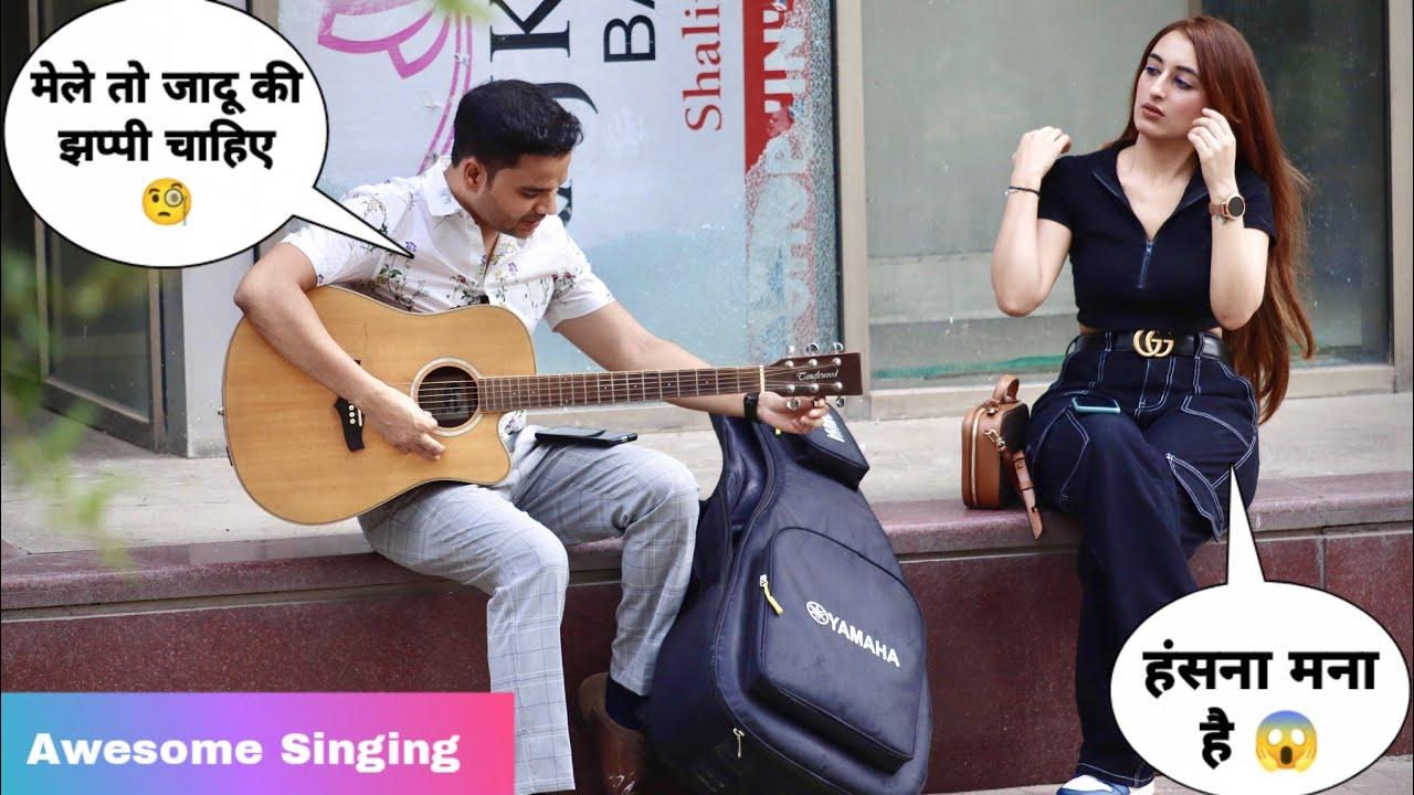 Totla (तोतला) Singing Awesome Songs & Picking Up Girl Reaction Video - 4 | Siddharth Shankar