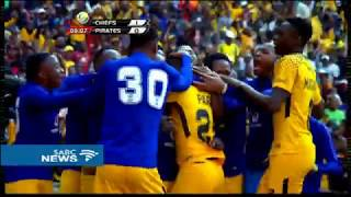 Kaizer Chiefs are 2017 Carling Cup champions