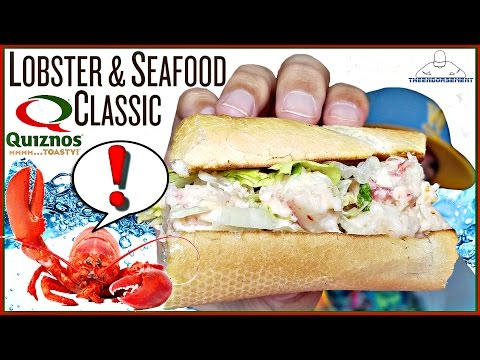QUIZNOS® LOBSTER & SEAFOOD CLASSIC SUB REVIEW | THEENDORSEMENT
