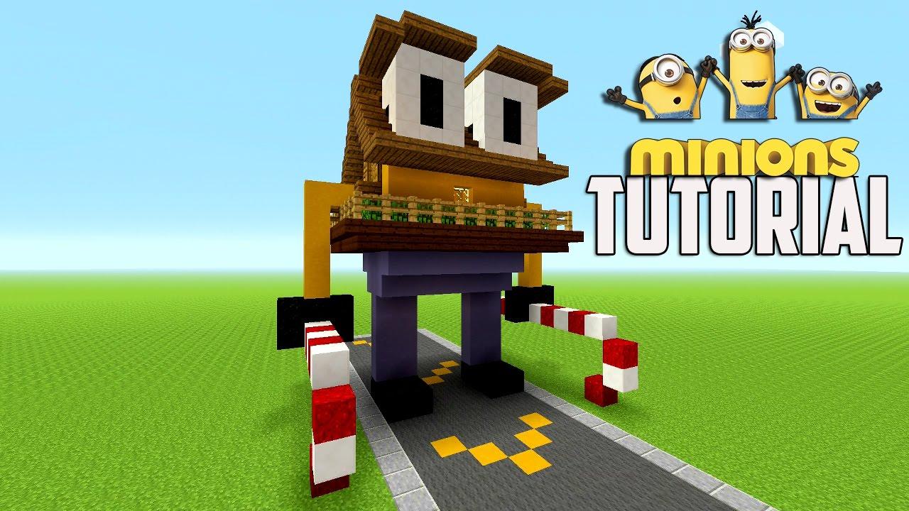 Minecraft Tutorial: How To Make A Minion House Tutorial | Survival House ( XMAS ) - YouTube