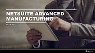 Demo  Operational Efficiency with Advanced Manufacturing