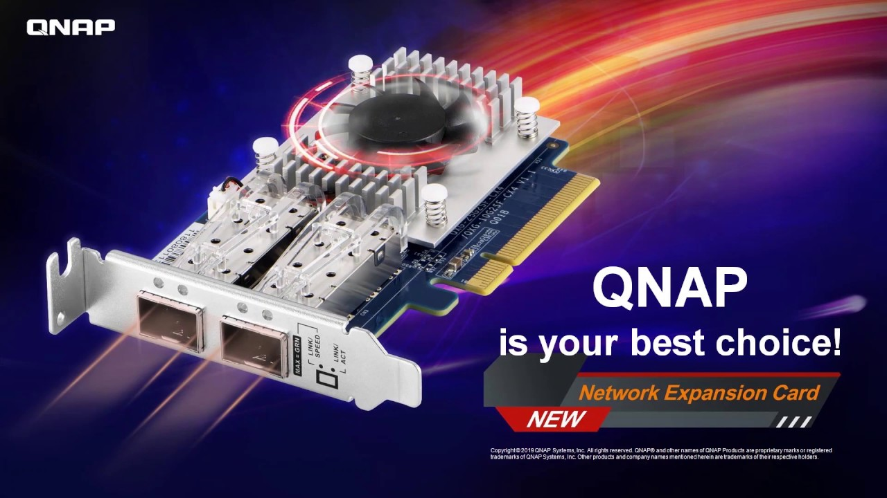 Introducing the QXG-25G2SF-CX4 25GbE Network Expansion Card | NAS ASAP