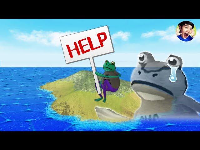 무인도에 생존 개구리가 있다?! 겜구리 구조대 출동!! - 어메이징프로그- 겜브링(GGAMBRING)