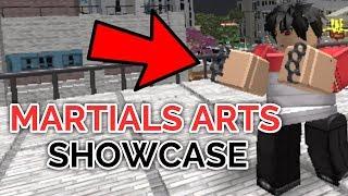 MARTIAL ARTS SHOWCASE! | Hero Academy Tempest | ROBLOX