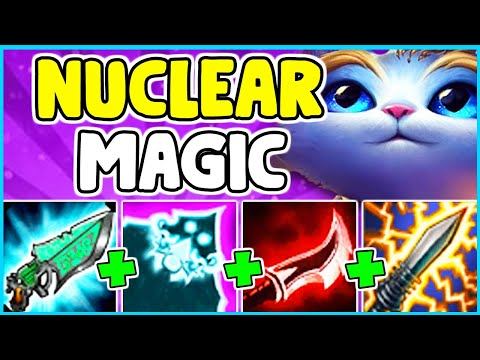 WTF!? NUCLEAR YUUMI MID IS 100% BROKEN! ONESHOT ANYONE WITH A SINGLE Q - League Of Legends
