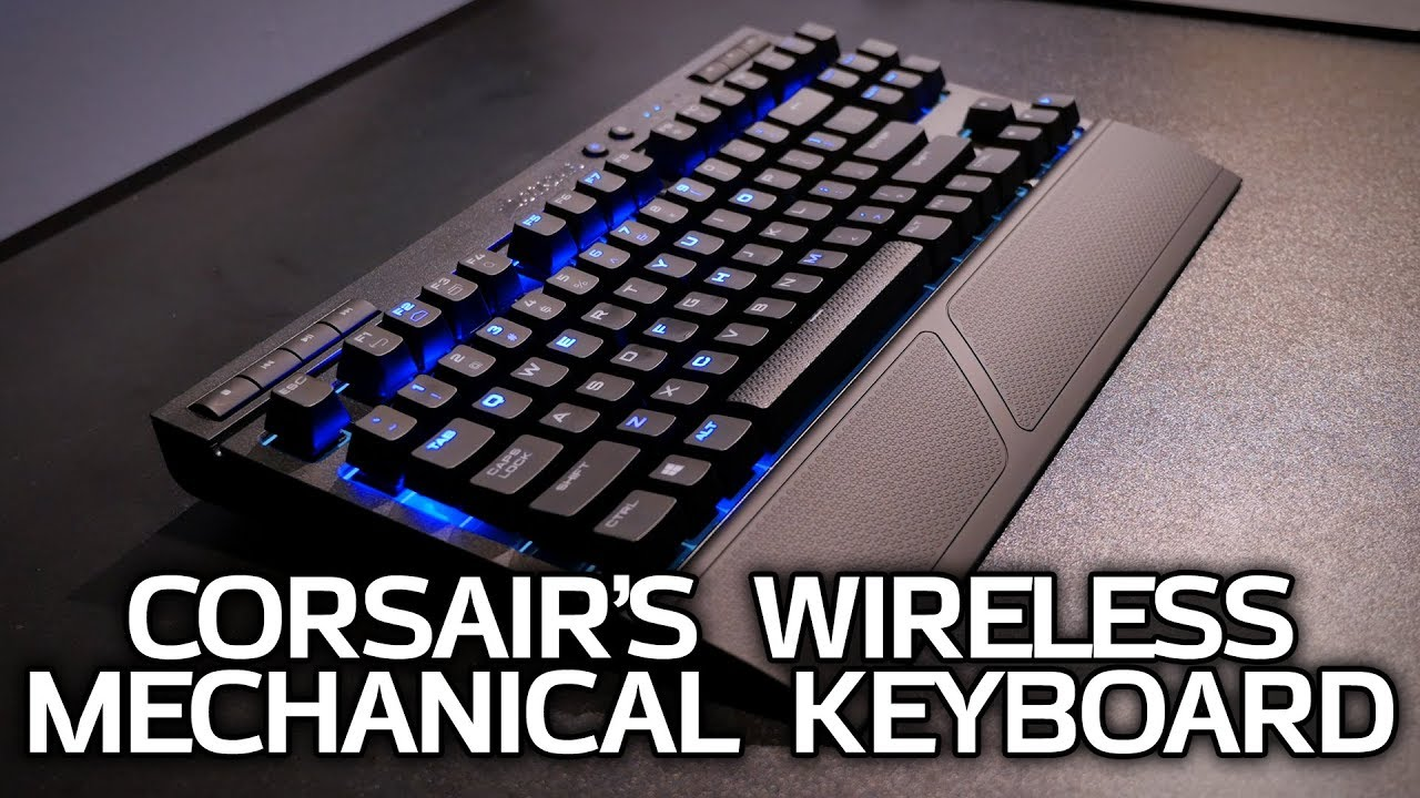 40ee2cf62c7 A Wireless Mechanical Keyboard and a Qi-Spot - Corsair at CES 2018 ...