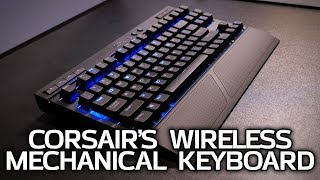 A Wireless Mechanical Keyboard and a Qi-Spot - Corsair at CES 2018