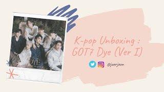 [Album Unboxing] GOT7 갓세븐 - Dye (11th Mini Album) Version I/…