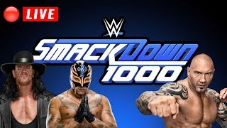 🔴 WWE Smackdown 1000  Live Stream October 16th, 2018 - Smackdown Live 1000 Full Show Live Reactions