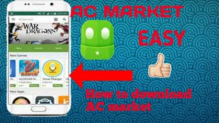Download lagu How to download AC market on android
