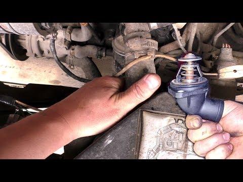 Проверка термостата не снимая с двигателя Пассат Б3