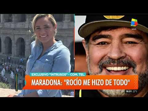 Maradona entrevista completa en Intrusos