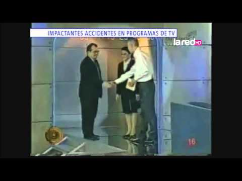 Thumbnail: Impactantes accidentes en programas de TV
