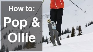 HOW TO JUMP ON SKIS | PART 1