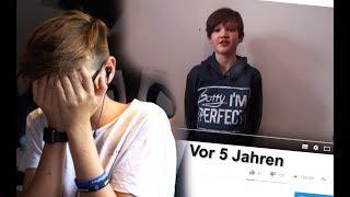 Ich REAGIERE auf mein ALTES VIDEO.. -Daily Vlog 13