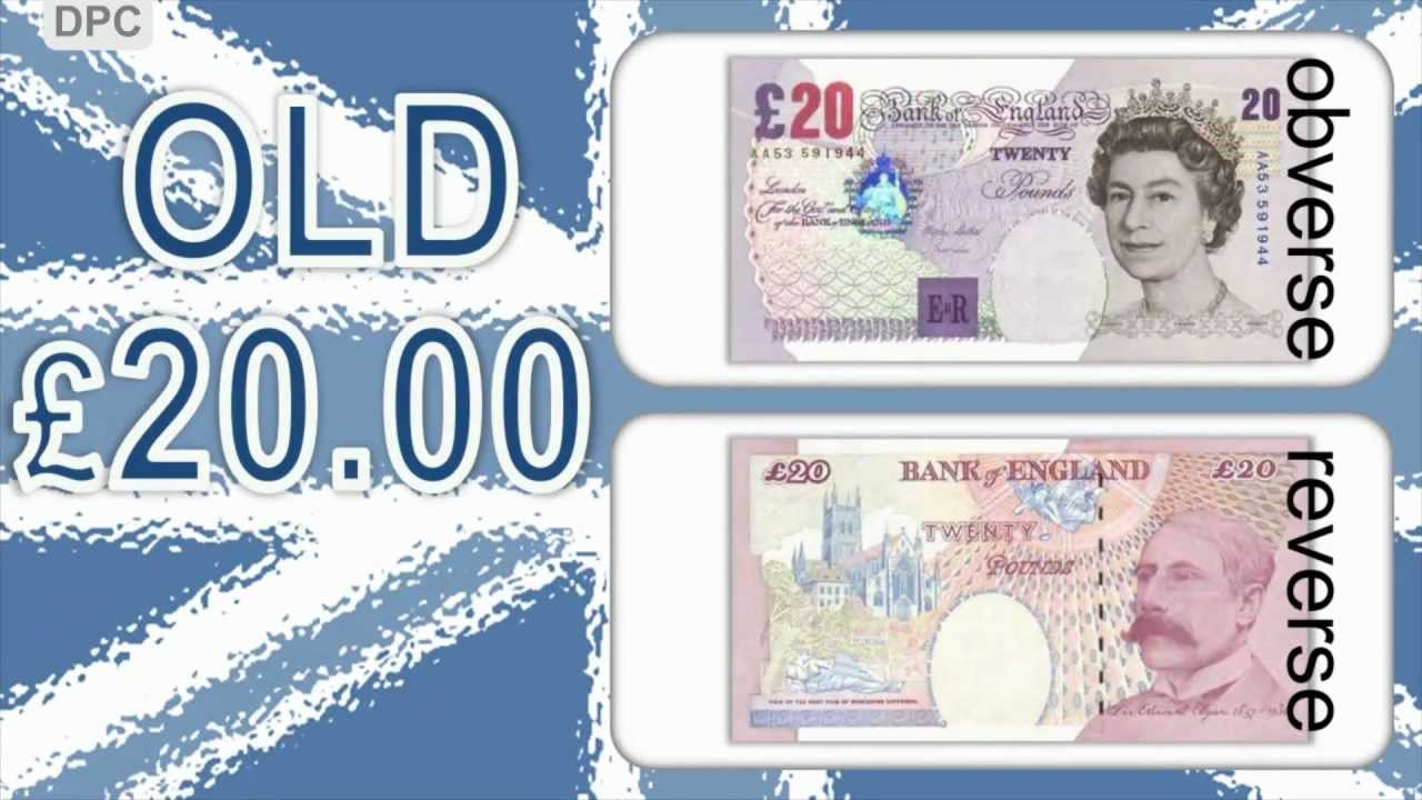 British Pound Sterling Banknotes Youtube
