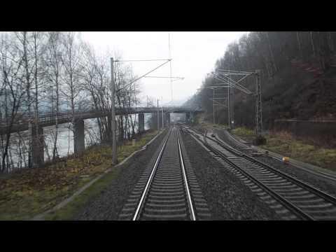 EC 174 Robert Schumann Ústí nad Labem Hlavní nádraží - Dresden Hbf (2/2)