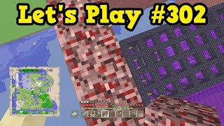 Minecraft Xbox Let's Play #303 - Flying Around The WHOLE World