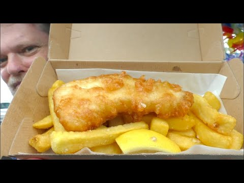 $5 Fish And Chips From Red Hot Cod, Gold Coast, Australia