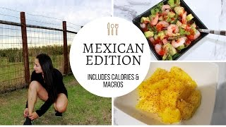 WHAT I EAT IN A DAY   IIFYM   MEXICAN EDITION
