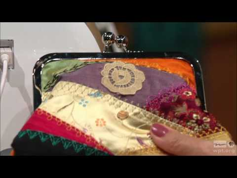 Sewing With Nancy - Today's Crazy Quilting with your Embroidery Machine, Part 2