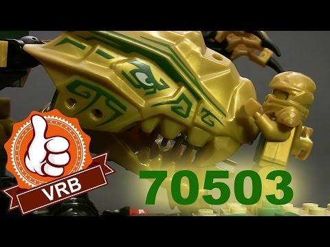 Обзор набора LEGO 70503 «Золотой дракон» серии Ninjago.