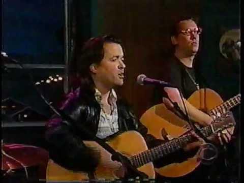 Violent Femmes 'Kiss Off' live Late Show with Craig Kilborn studio performance