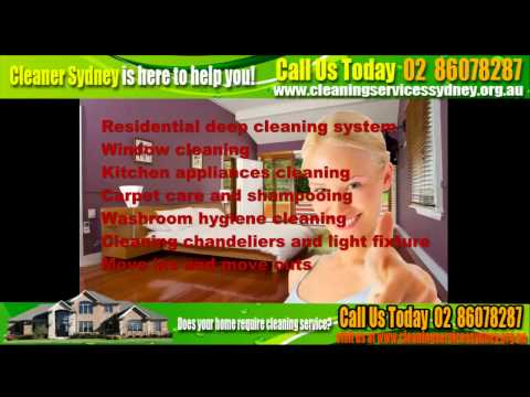 House Cleaning Services Sydney (02) 86078287 | Affordable and Best House Cleaning Services Sydney