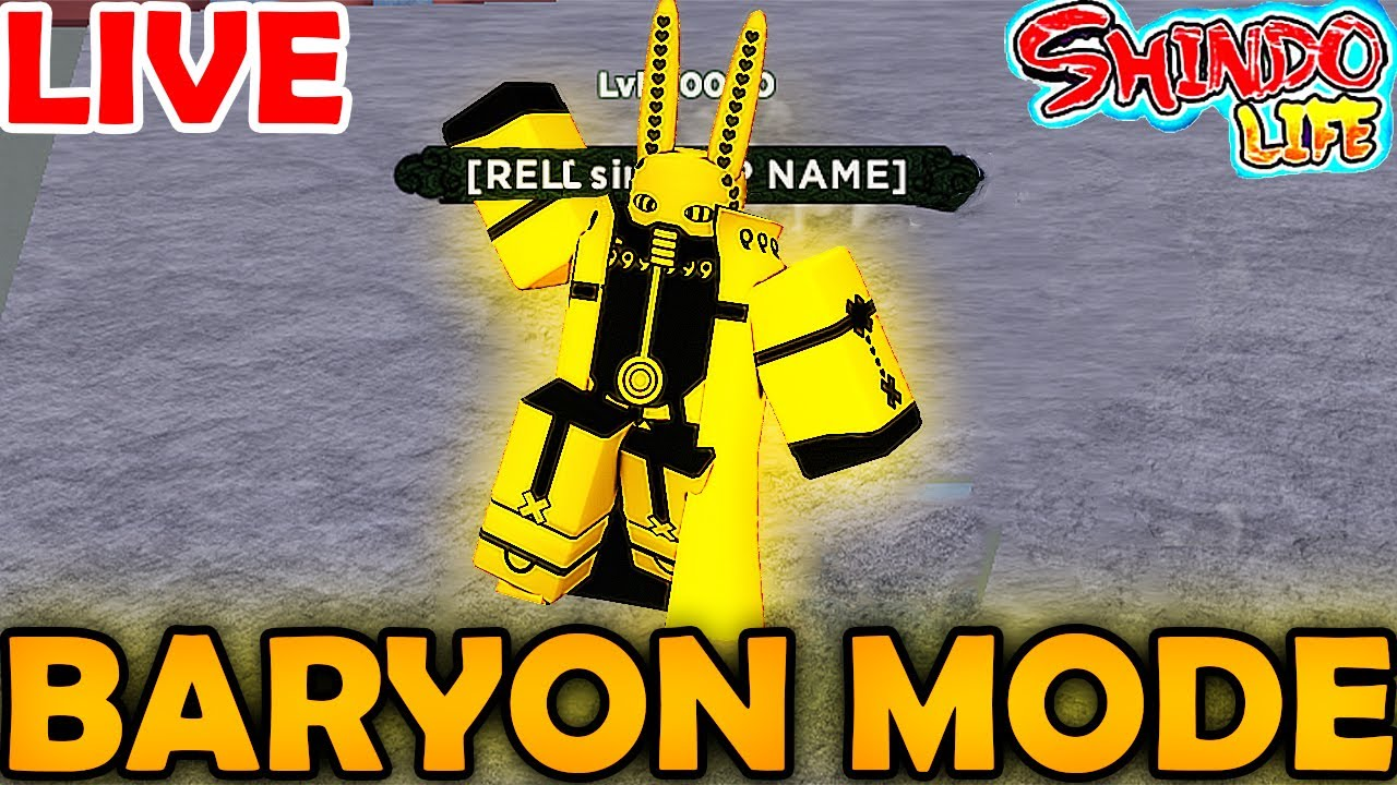 Download [BARYON MODE!] COUNTDOWN FOR THIS NEW HUGE UPDATE?!! in Shindo Life Roblox Live